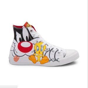 Converse Hi Looney Tunes Sylvester & Tweety Yth 13